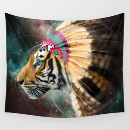 Fight For What You Love (Chief of Dreams: Tiger) Tribe Series Wall Tapestry