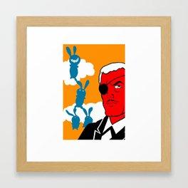 mr.weymes the billionaire 4 Framed Art Print