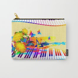 Colorful music instruments design Carry-All Pouch