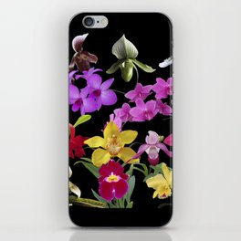 Orchids Galore iPhone Skin