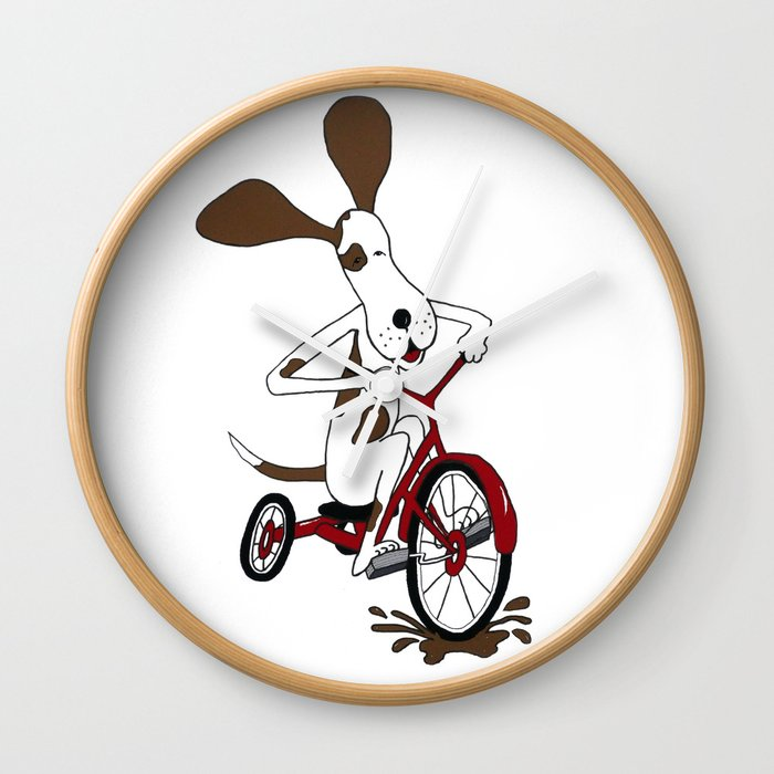 Go For It Wall Clock