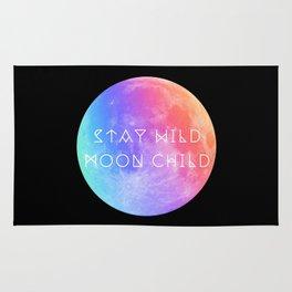 Stay Wild Moon Child v2 Rug