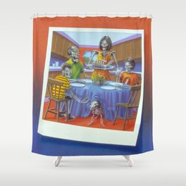 Say Cheese and Die Again! Shower Curtain