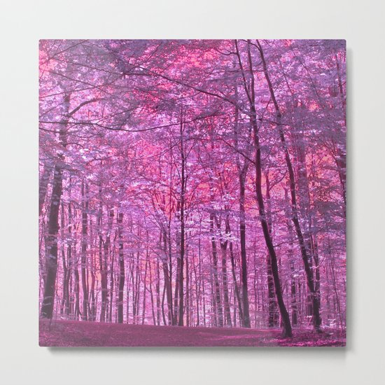purple forest V Metal Print