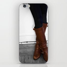 These Boots Are Made For Walking iPhone Skin