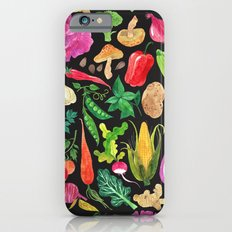 VEGGIES in black Slim Case iPhone 6