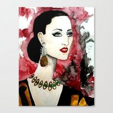 Rossy Canvas Print