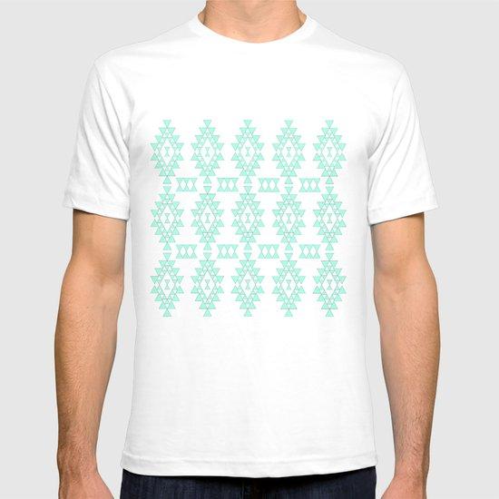 Mint Geo T-shirt