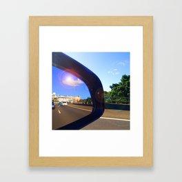 Rear Vision II Framed Art Print