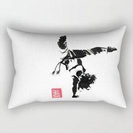 Capoeira 451 Rectangular Pillow