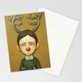 the worst christmas ever Stationery Cards