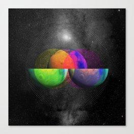Venn Diameter - Square Canvas Print