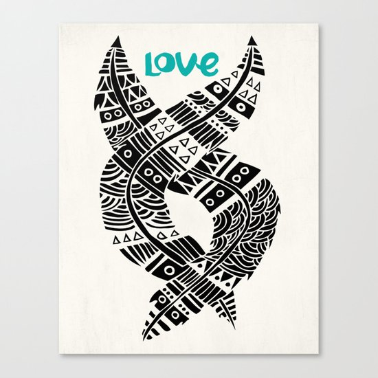United Love Canvas Print