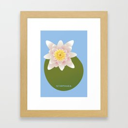 Nymphaea Framed Art Print