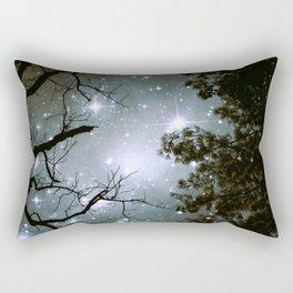 Starry Night Sky 2 Rectangular Pillow