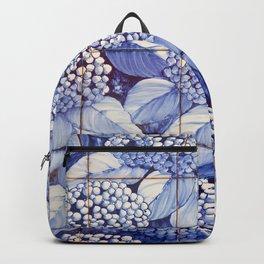 Floral tiles Backpack