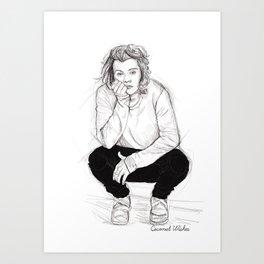 Cute Harry Art Print