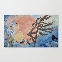 Rejoice; The Turning of the Sun Canvas Print