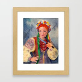 Gretchen Framed Art Print