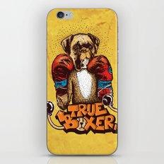 true boxer iPhone & iPod Skin