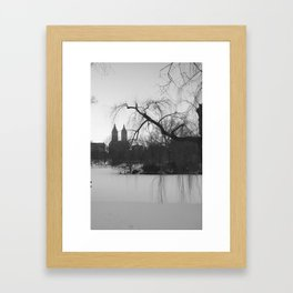 New York Snow Framed Art Print