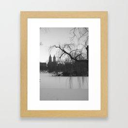 New York Snow Framed Art Print