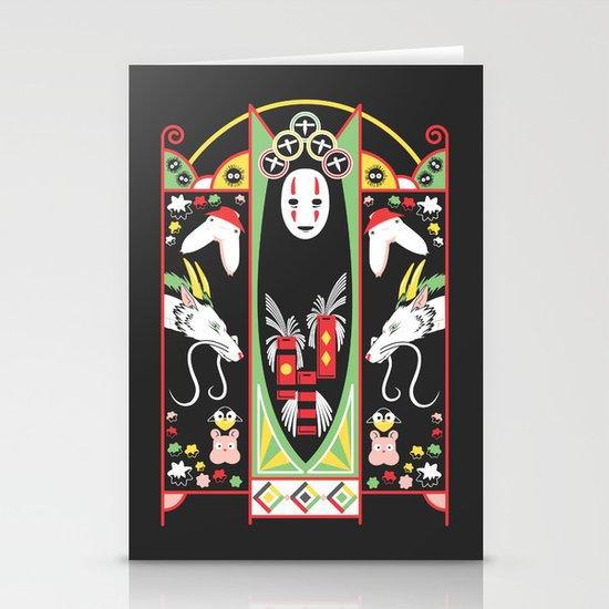 Spirited Deco Stationery Cards
