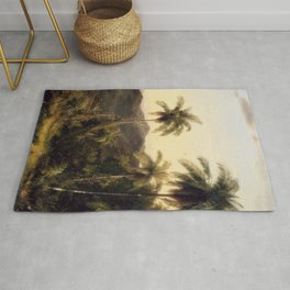 Frederic Edwin Church - Cotopaxi Rug