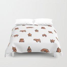 Wooferland: Wooferdog pattern Duvet Cover