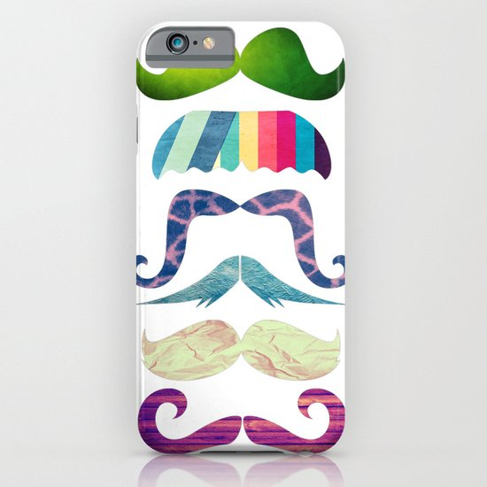 mustache BOOM iPhone & iPod Case
