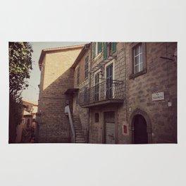 Italian classic town view Rug