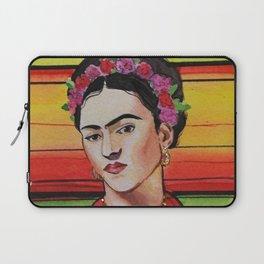 Portrait of Frida Kahlo Laptop Sleeve