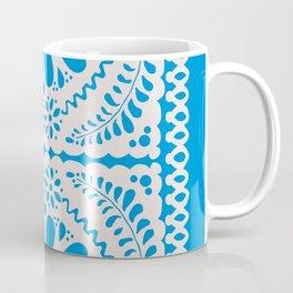 Fiesta de Flores in Party Blue Coffee Mug