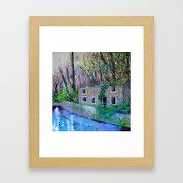 Aqueduct Cottage Framed Art Print