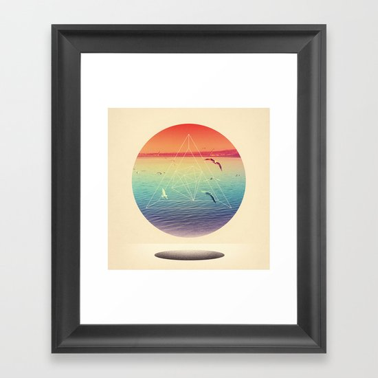 Lapse In Perception Framed Art Print
