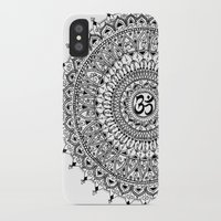 ohm iPhone & iPod Cases featuring Ohm Mandala by Sarah Ottino
