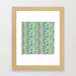 Hibiscus Love Framed Art Print