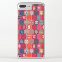 Red Carpet Clear iPhone Case