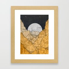 Copper Mounts Framed Art Print
