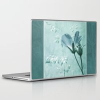 bill Laptop & iPad Skins featuring crane's bill  by PaulaPanther
