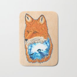Untamed Winter Bath Mat