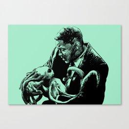 The Black Suit Canvas Print