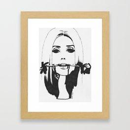 Lana DelRey Framed Art Print