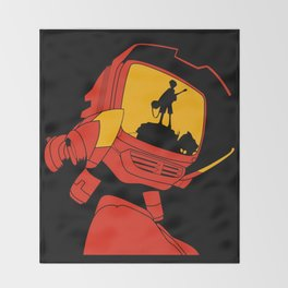 Canti - FLCL Throw Blanket