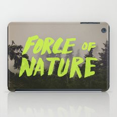 Force of Nature x Cloud Forest iPad Case
