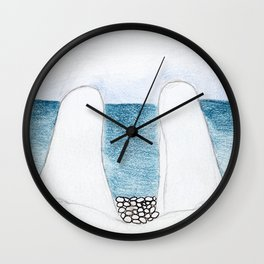 summer lovers_W Wall Clock