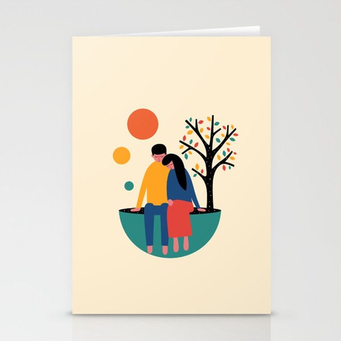 Always and forever Stationery Cards