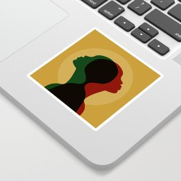 African Roots Sticker