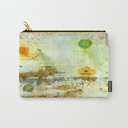 Drifting, Abstract Landscape Art Painting Carry-All Pouch
