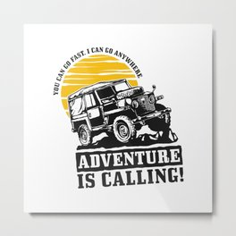 Off road adveture Metal Print